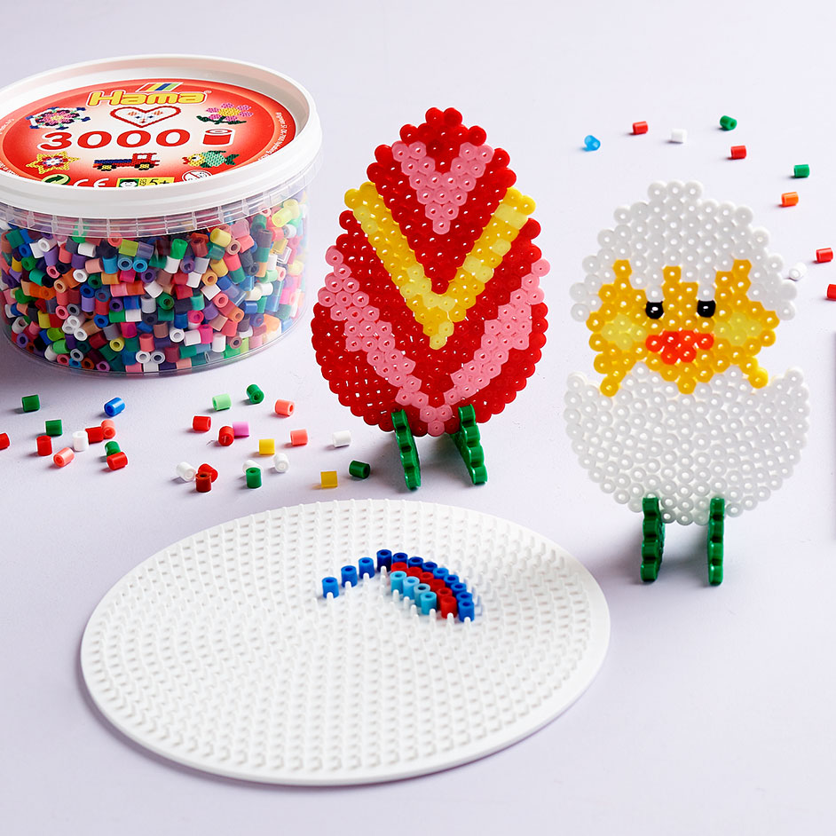 3D Easter Egg Hama Beads Project