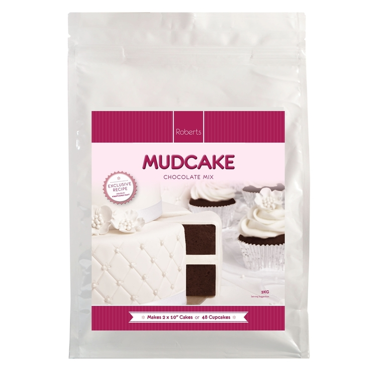Roberts Edible Craft Chocolate Cake Mix Chocolate 2 kg