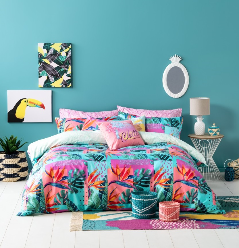 Shop Our Ombre Home Neon Tropics Collection