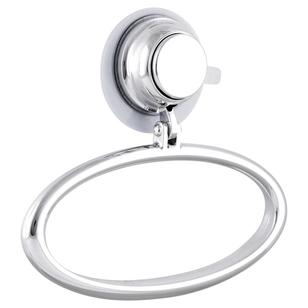 Naleon Super Suction Chrome Towel Ring