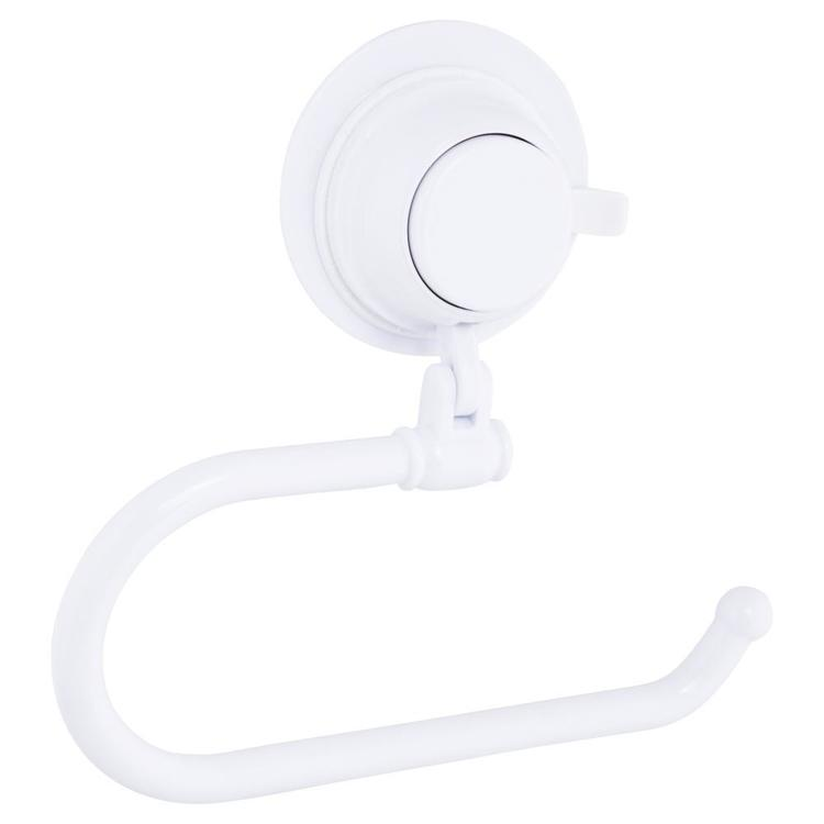 Naleon Super Suction Matte Toilet Roll Holder White