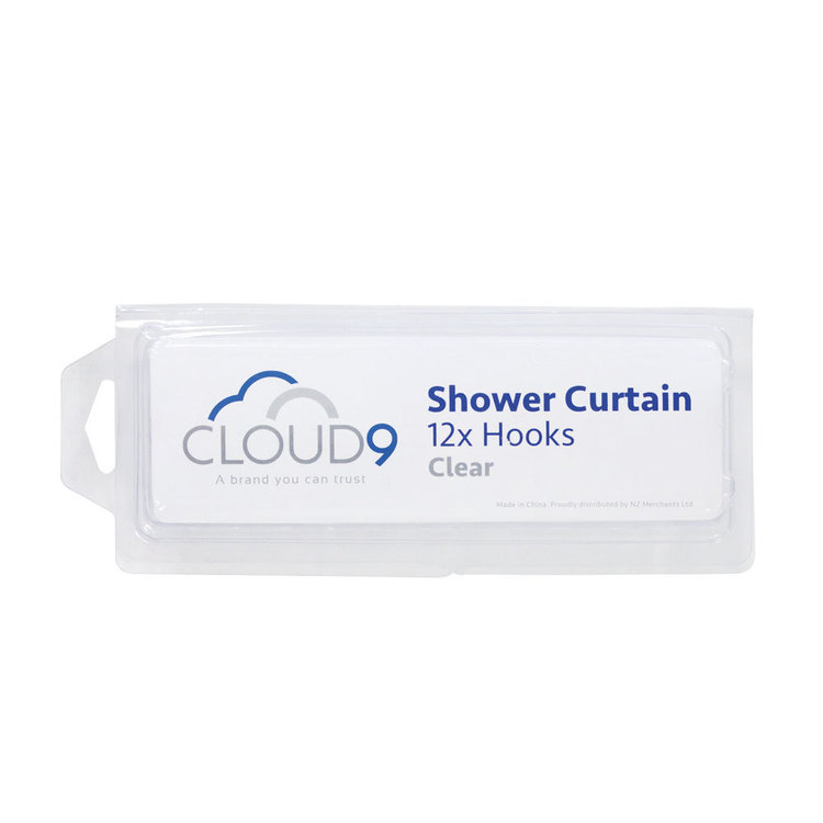 Cloud 9 Shower Curtain Hooks