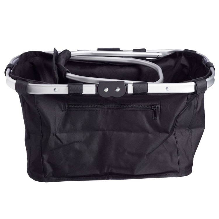 D.Line Shop & Go Carry Basket Black