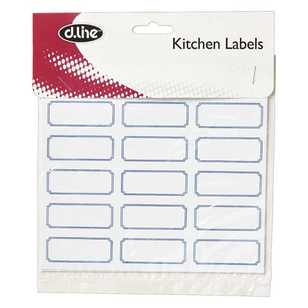 Blank Labels 45 Pack