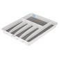 Madesmart 6 Compartment Cutlery Tray White