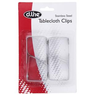 D.Line Stainless Steel Tablecloth Clips