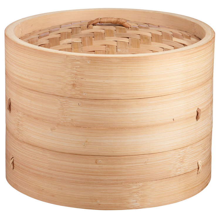 D.Line Bamboo Steamer 3 Piece Natural