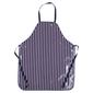 Ladelle PVC Butchers Stripe Apron Navy