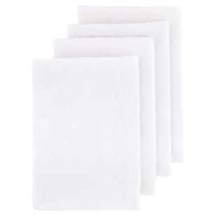 Evie Damask Napkins 4 Pack