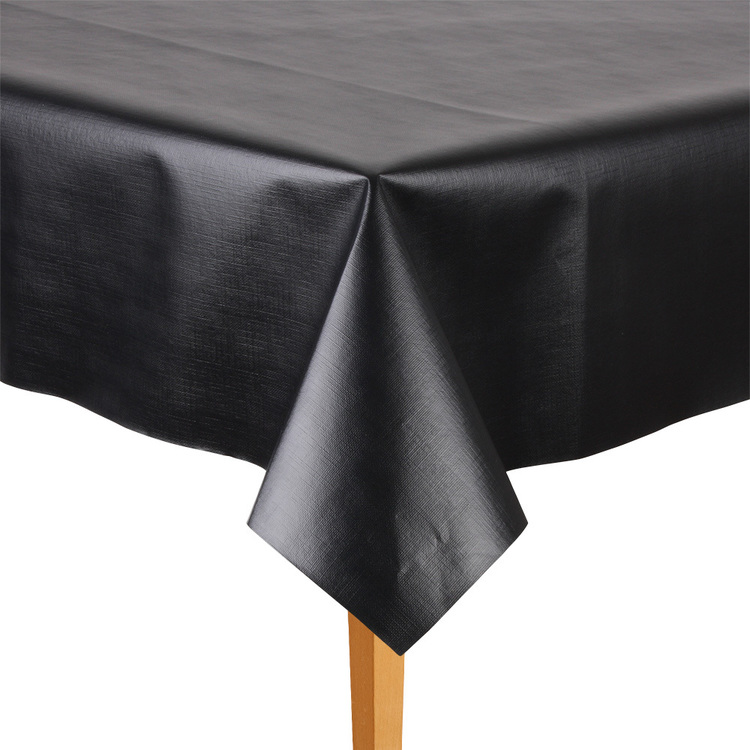 Ladelle Embossed Tabletone By The Metre Black