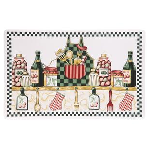 Kitchen Rectangle PVC Decorative Placemat