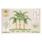 Palm Tree Rectangle PVC Decorative Placemat Palm Tree