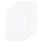 WAM Hotel Quality Napkins 4 Pack White