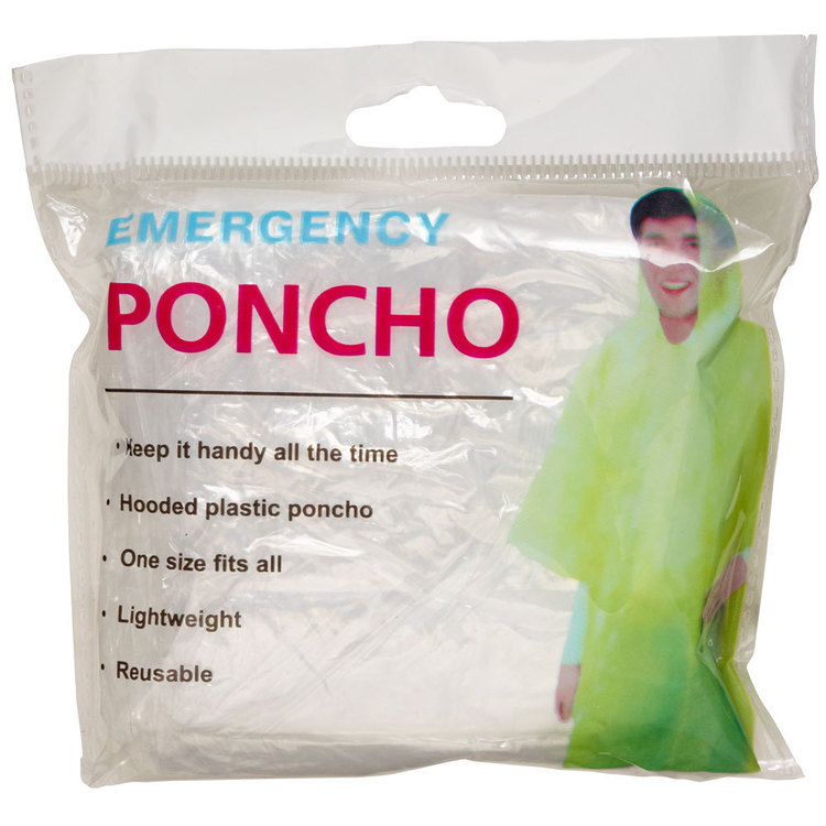 Emergency Winter Poncho