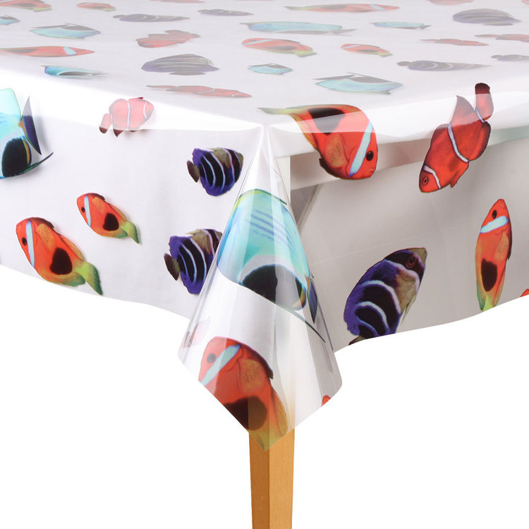 Ladelle Vinyl Printed Tropical Fish By The Metre Tropical Fish