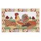 Rooster Rectangle PVC Decorative Placemat Rooster