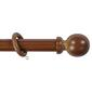 Windowshade 33 mm Wood Pole Set