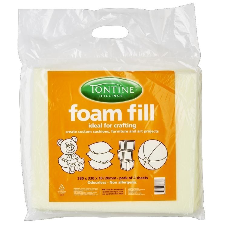 Dunlop Multi Purpose Foam 4 Pack