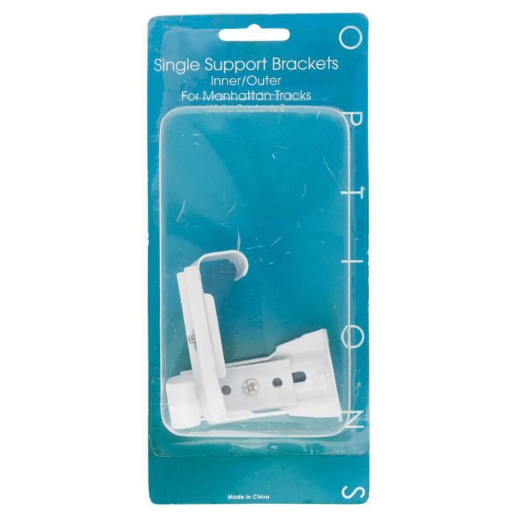 Caprice Manhattan Single Support Bracket White