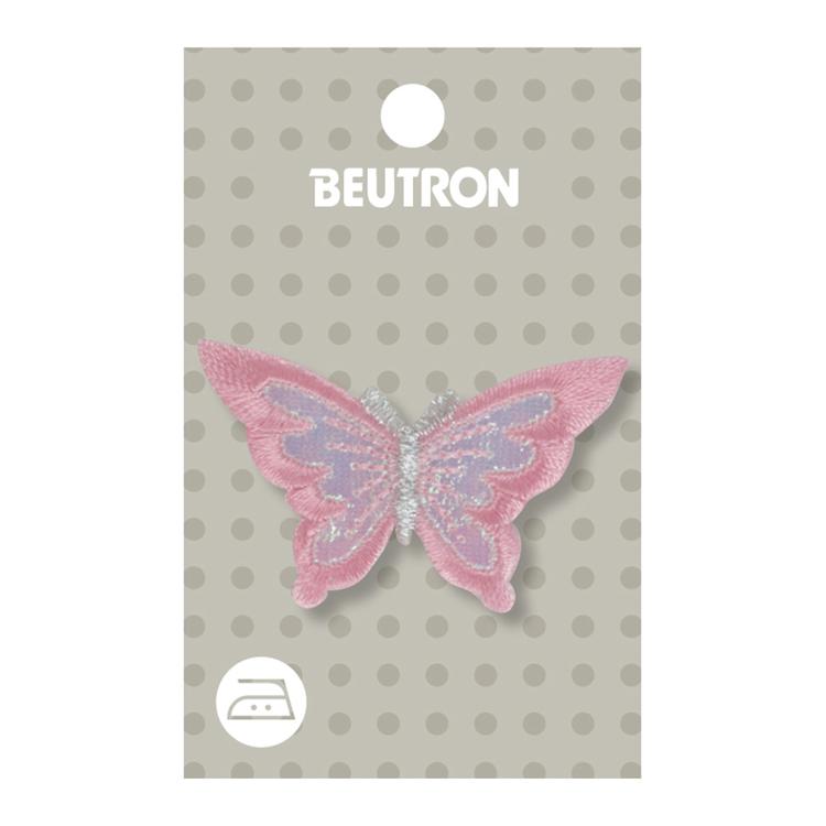 Beutron Butterfly Pink Motif