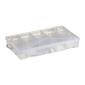 Birch Organiser Box With Adjustable Compartments Clear 4 - 15 cm