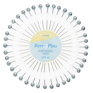Birch Pearl Berry Pins Rose