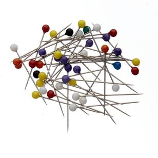 Birch Plastic Head Pins 100 Pack