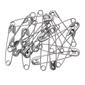 Birch Steel Safety Pins 10 Pack Steel 45 mm