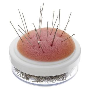 Birch Pins With Foam Pin Cushion 30 Pack