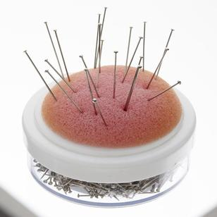 Birch Pins With Foam Pin Cushion 34 Pack