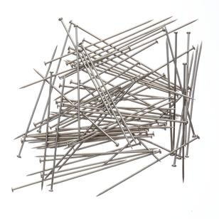 Birch Dressmaker Nickel Plated Pins
