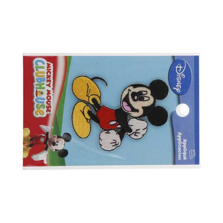 Simplicity Disney Mickey Mouse Iron On Motif Multicoloured