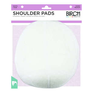Birch Raglan Uncovered Shoulder Pad