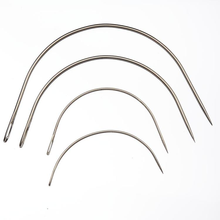 Birch Curved Upholstery Needles