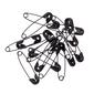Birch Black Safety Pins 100 Pack Black 00