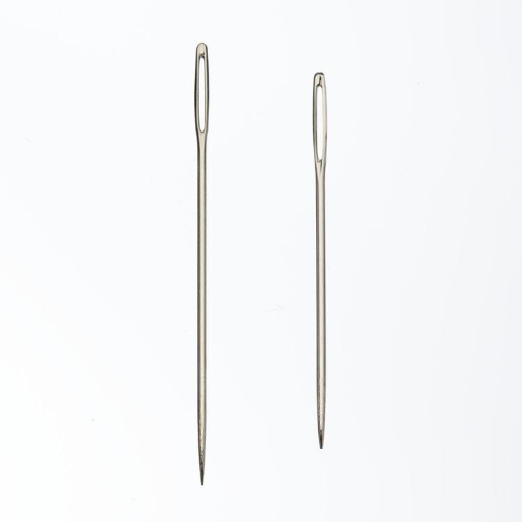 Birch Knitter's Sewing Needles Silver
