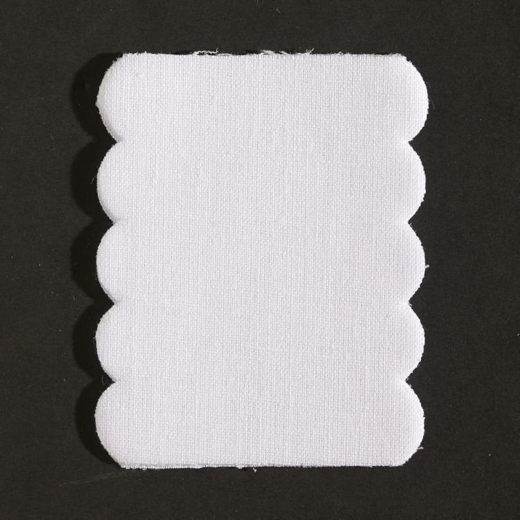 Birch Iron-On Name Tag Labels White