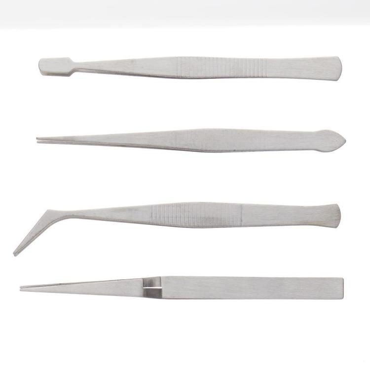 Birch Tweezers & Plier Silver