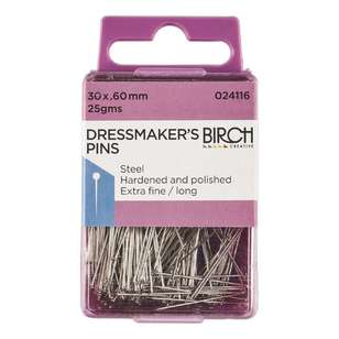 Birch Dressmaker Extra Long Pins
