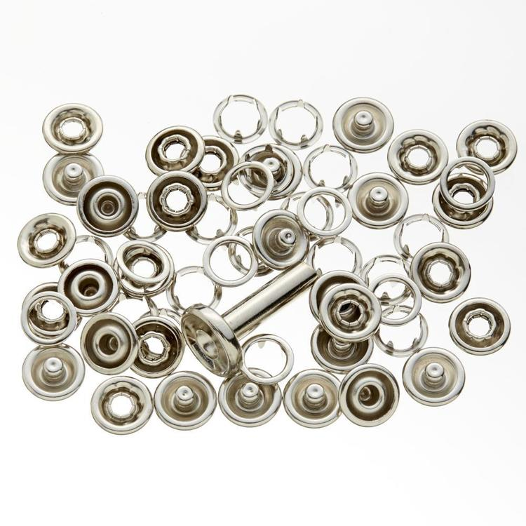 Birch Gripper Studs With Tool Silver