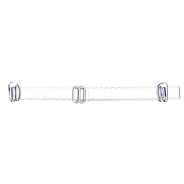 Birch Scalloped Shoulder Straps Clear