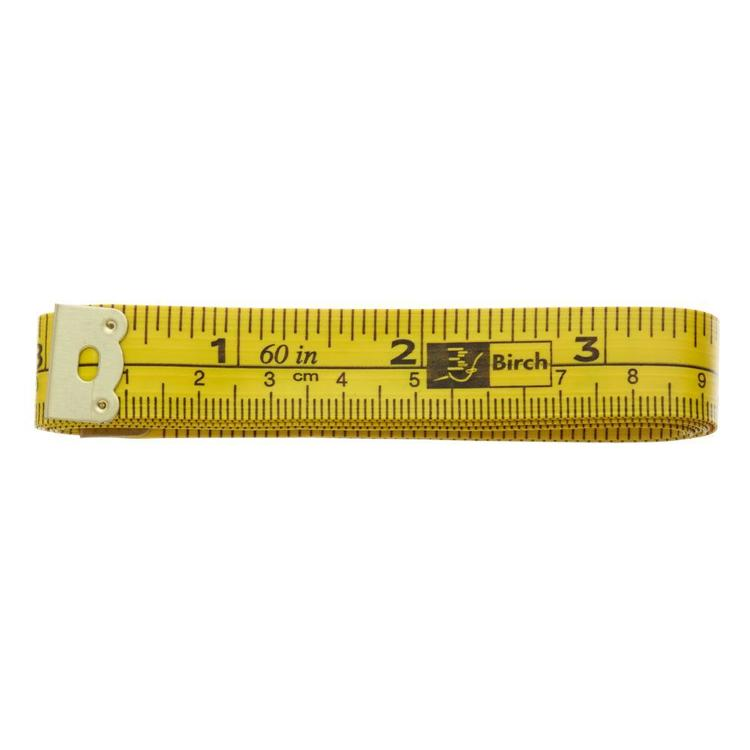 Birch Yellow Analogical Tape Measure Yellow