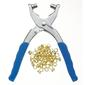 Birch Eyelet Plier & 100 Gold Eyes Gold