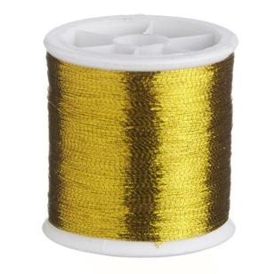 Birch Metallic Thread 100 Metre Roll