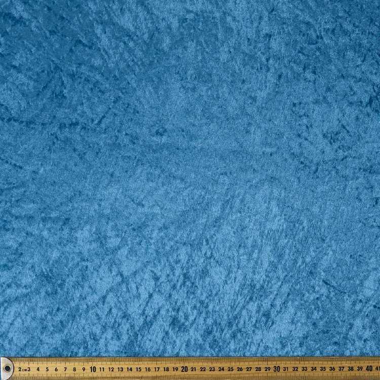 Plain 148 cm Panne Velvet Fabric
