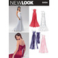 New Look 6454 Women's Evening And Bridal Wear  8 - 18