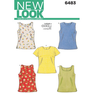 New Look Pattern 6483 Women's Top