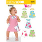 New Look 6576 Girl's Dress  Small - Large