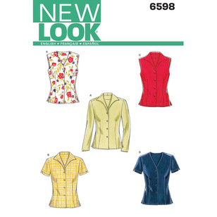 New Look Pattern 6598 Women's Top