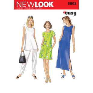 New Look Pattern 6602 Women's Dress